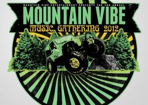 Mountain Vibe Logo stickers