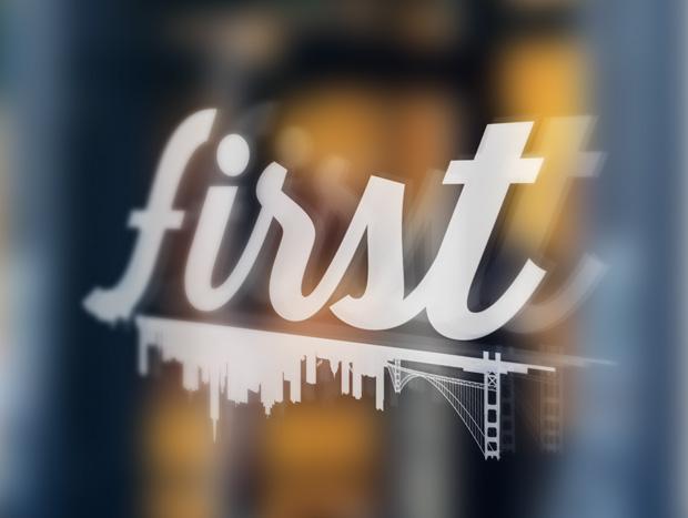 First-logo-design
