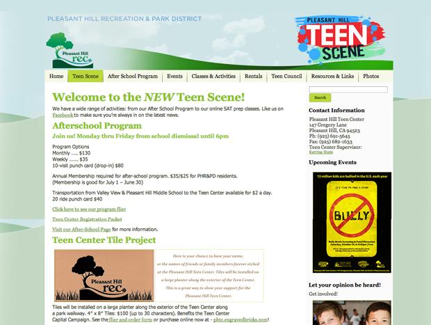 Exit Teen Center 81