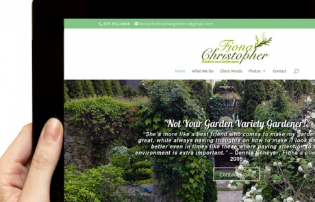 landscaping-company-ipad-website-design