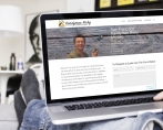 website design for handyman ricky