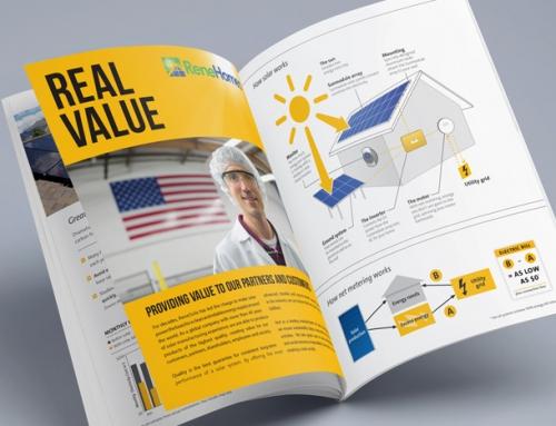 Solar Logo Design + Brochure Design SF – ReneHomes