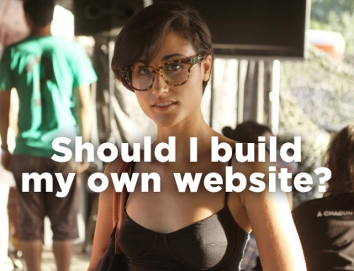 Just because you can build your own website doesn't mean you should.