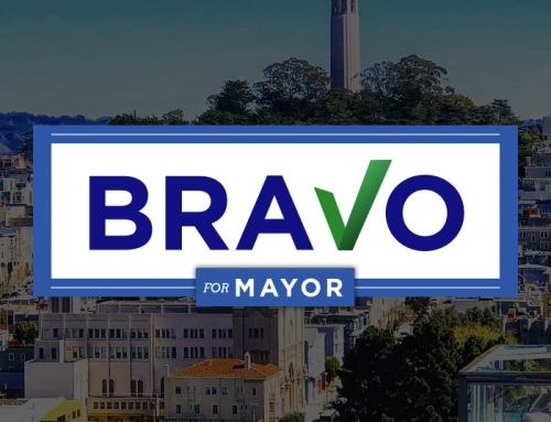 Political Campaign Website and Logo Design – BRAVO